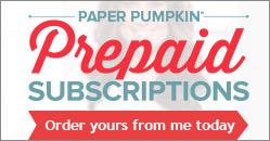 Paper Pumpkin Prepaid Subscription
