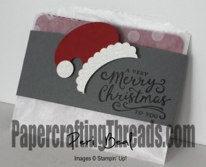 Santa Hat Gift Card Holder