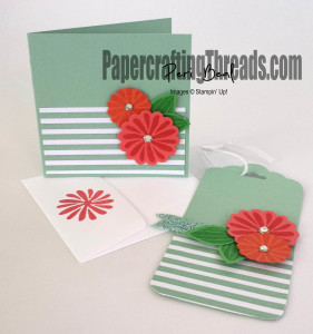 Blossoming Gift Card and Tag