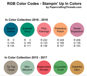 RGB Color Codes