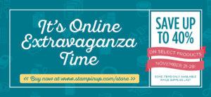 Online Extravaganza Starts Now!