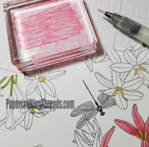 Stampin'Up!, custom color glitter with wink of Stella, how to, #peribeal, #papercraftingthreads