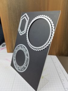 Diecut on Picture Frame