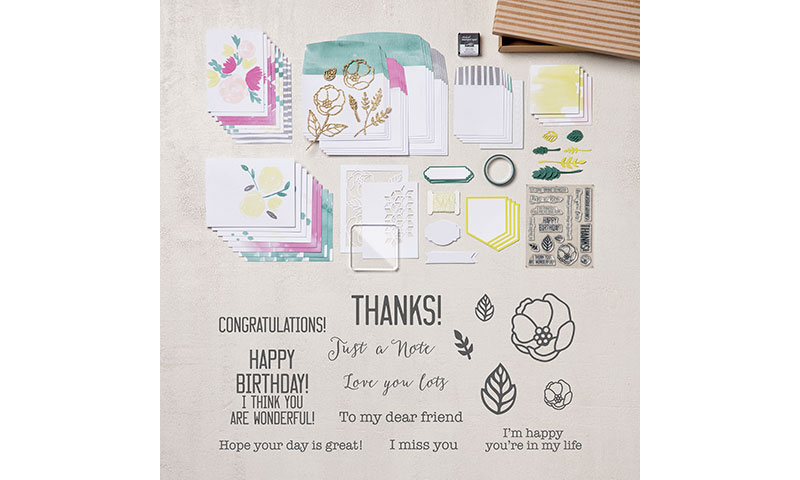 Card Kits, Soft Sayings Card Kit