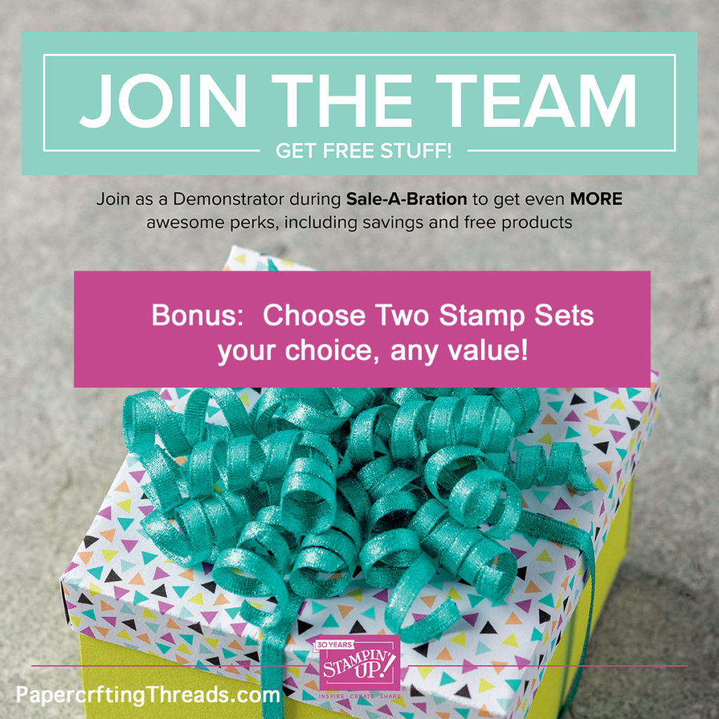 Why Join Stampin'Up!